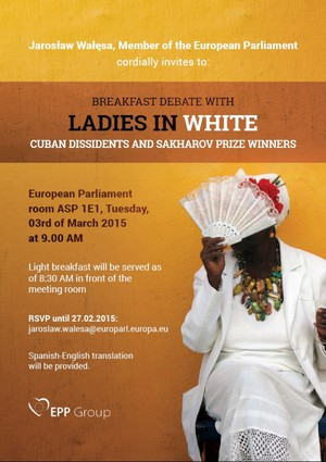 Breakfast debate with Ladies in White