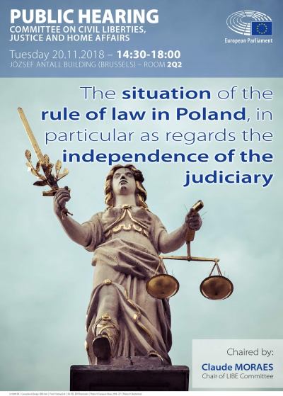 The situation of the rule of law in Poland, in particular as regards the independence of judiciary