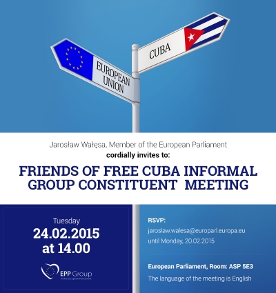 Friends of Free Cuba Informal Group Constituent Meeting