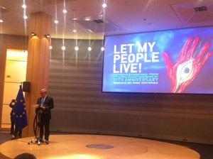 Holocaust Remembrance Day in the European Parliament.